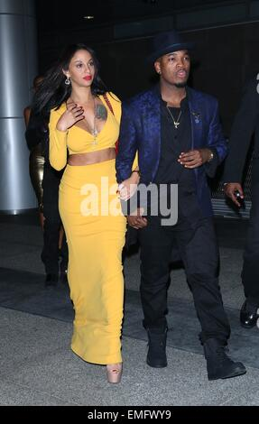 ... Ne Yo And Friends Arriving The Conga Room At L.A. Live Featuring: Ne  Part 61