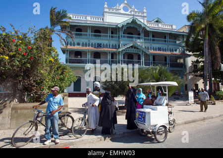 The old dispensary, now the Zanzibar cultural centre - Stock Photo