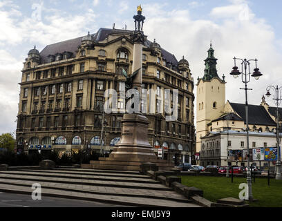April 19, 2015 - Monument of polish poet Adam Mickiewicz (Credit Image: © Igor Golovniov/ZUMA Wire) - Stock Photo