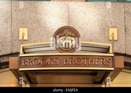 Brooks Brothers Store Front Stock Photo 83426532 Alamy