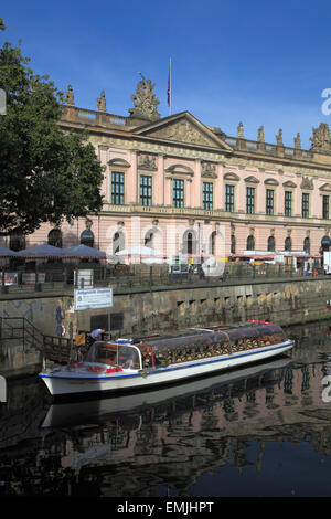 Germany, Berlin, German Historical Museum, Deutsches Historisches Museum, Spree River, - Stock Photo