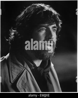 Alan Bates, on-set of the Film 'An Unmarried Woman', 1978, 20th Century Fox, all rights reserved - Stock Photo