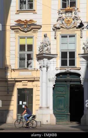 Austria, Vienna, Old Town Hall, Altes Rathaus, - Stock Photo