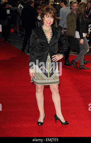 BFI London Film Festival - 'A Little Chaos' - Love Gala screening at the Odeon West End  Featuring: Kathy Lette - Stock Photo