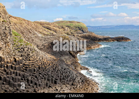 Isle of Staffa, Scotland - Stock Photo