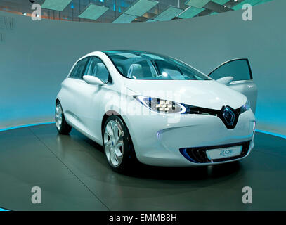 30.SEPTEMBER.2010. PARIS  RENAULT ZOE AT THE PARIS INTERNATIONAL MOTOR SHOW, AT THE PARIS EXPO, IN FRANCE. - Stock Photo
