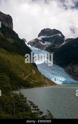 Serrano Glacier, Bernardo O'Higgins National Park, Chilean Patagonia - Stock Photo