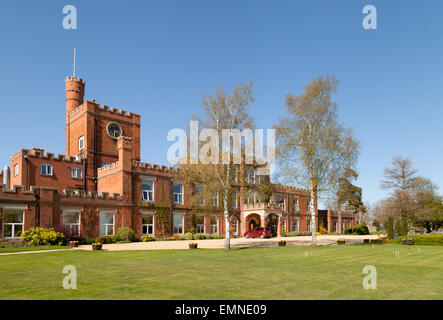 Ragdale Hall Health Hydro and Thermal Spa, Melton Mowbray, Leicestershire, UK - Stock Photo