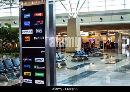 Miami Florida International Airport Alamo Car Rental