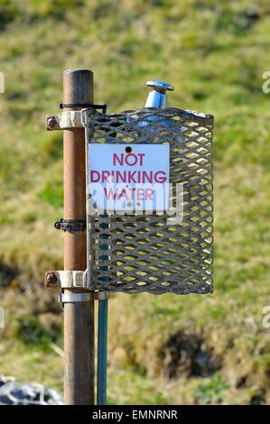 not drinking water sign pdf