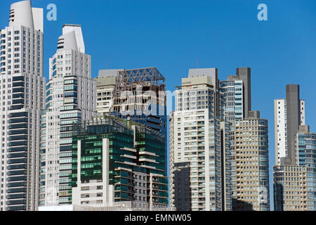 New skyscrapers in Puerto Madero, Buenos Aires, Argentina - Stock Photo