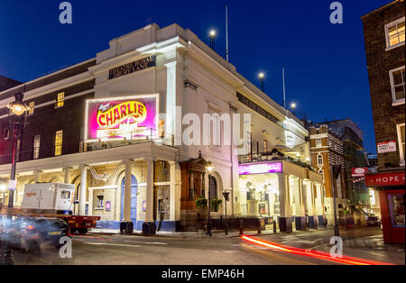Theatre Royal Drury Lane at Night London UK - Stock Photo