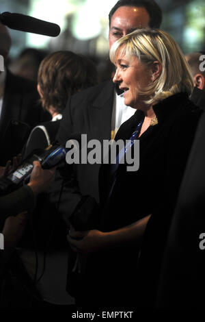 Marine Le Pen attending the TIME 100 Gala, TIME's 100 Most Influential People In The World at Jazz at Lincoln Center - Stock Photo