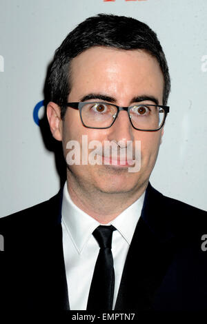 John Oliver attending the TIME 100 Gala, TIME's 100 Most Influential People In The World at Jazz at Lincoln Center - Stock Photo