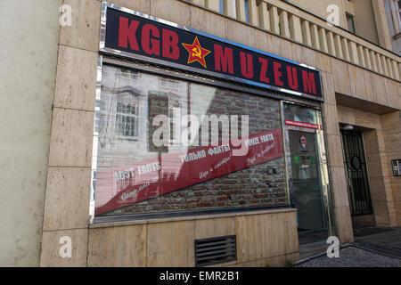 KGB museum, Lesser Town, Prague Czech Republic - Stock Photo