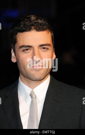 30.MARCH.2011. LONDON  OSCAR ISAAC ATTENDING THE SUCKER PUNCH PREMIERE AT VUE CINEMA IN LEICESTER SQUARE, CENTRAL - Stock Photo