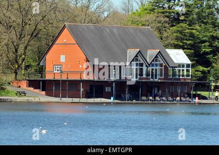 The Lakeside cafe, Llandrindod Wells,, Powys, Wales UK. - Stock Photo
