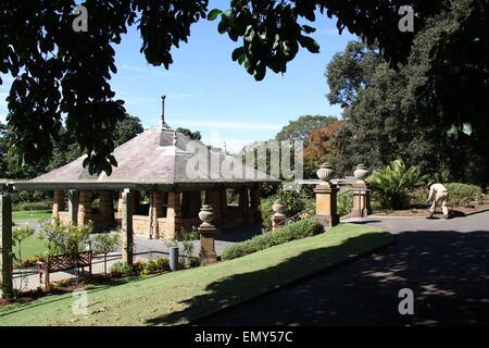 Sydney, Australia. 24 April 2015. The Royal Botanic Garden. Credit: Richard Milnes/Alamy - Stock Photo