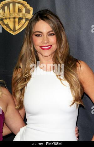 Las Vegas, Nevada. 21st Apr, 2015. Sofia Vergara arrives at 2015 CinemaCon - Warner Bros. Presents The Big Picture - Stock Photo