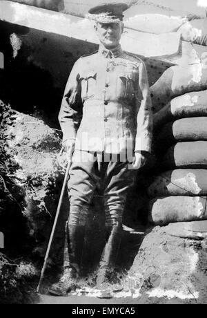 Field Marshal William Riddell Birdwood, 1st Baron Birdwood (1865 -1951), a British general who served as commander - Stock Photo