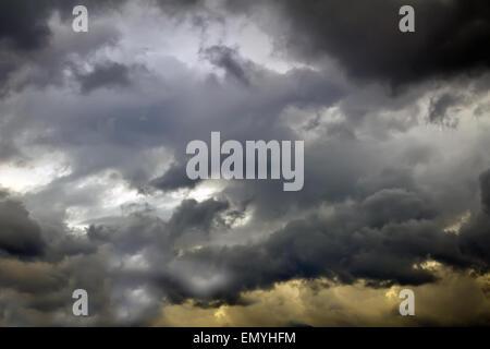 Rainy sky - Stock Photo