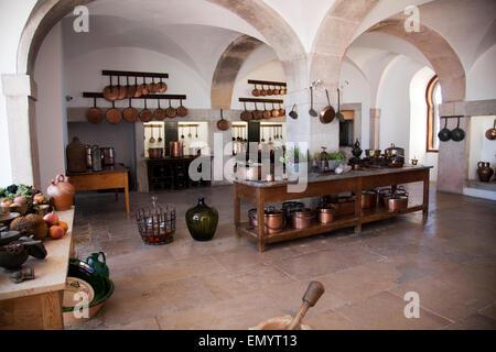 Palácio da Pena Kitchen -   Sintra, Portugal - Stock Photo
