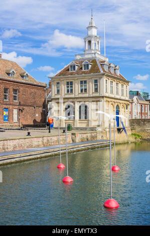 Harbour and customs house, Kings Lynn Norfolk, England, UK GB EU Europe - Stock Photo