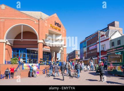 Intu Potteries shopping centre City Centre Stoke on Trent Staffordshire England GB UK EU Europe - Stock Photo