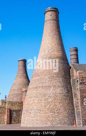 Gladstone Pottery Museum Stoke on Trent Staffordshire England GB UK EU Europe - Stock Photo