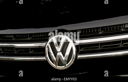 ADLER, RUSSIA 28th of March 2015 – The VW car has had many new chief executives that have helped shape the design - Stock Photo
