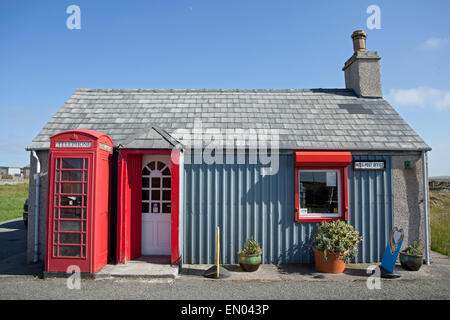 Royal Mail Post Office on the Isle of Lewis, Outer Hebrides, Scotland. - Stock Photo