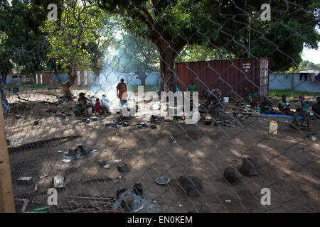 Emergency Health Care in Central African Republic - Stock Photo