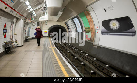 Oxford Circus Underground Station, London, Britain - Stock Photo