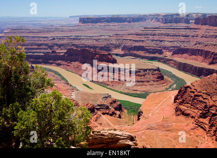 Dead Horse Point State Park, Utah - Stock Photo