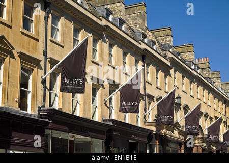 Jolly\'s department store Milsom Street, Bath, Somerset, England ...