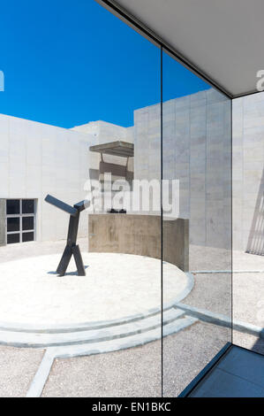 Israel, Jerusalem, view from inside to outside - Stock Photo
