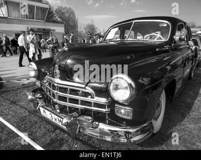 Car Zim Gaz Vintage Car Model Year Fifties