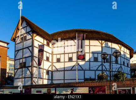 Shakespeare's Globe, Southwark, London, England - Stock Photo