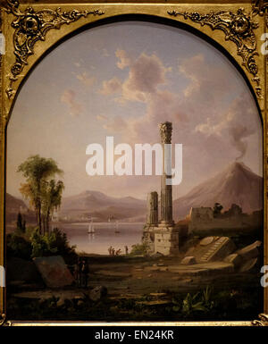 Pompeii 1855 Robert S Duncanson - Stock Photo