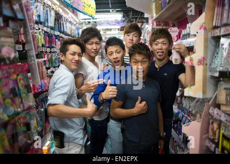 shops in Osaka - Stock Photo