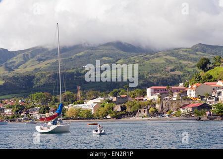 St. Pierre, Martinique - Stock Photo