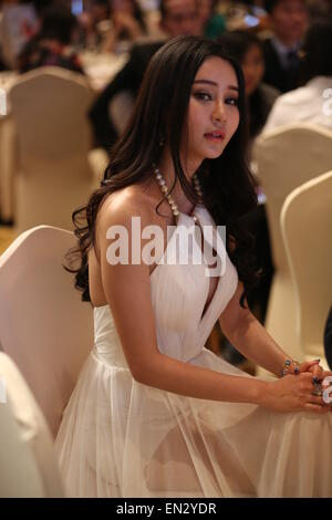 Shanghai, Shanghai, CHN. 25th Apr, 2015. Shanghai, CHINA - APR 26 2015: (EDITORIAL USE ONLY. CHINA OUT) MIYA who - Stock Photo