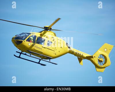 North West Air Ambulance UK - Stock Photo