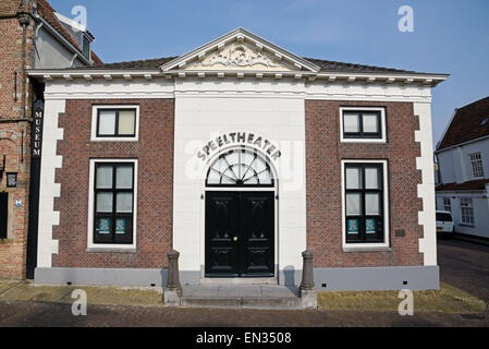 Speeltheater theatre, Edam, province of North Holland, The Netherlands - Stock Photo