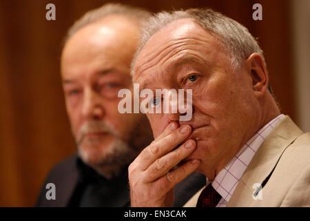 Former London Mayor Ken Livingstone - Stock Photo