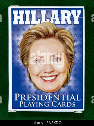 Washington, DC, USA. 26th Apr, 2015. Hillary Clinton memorabilia amassed over the course of several decades by Bill - Stock Photo