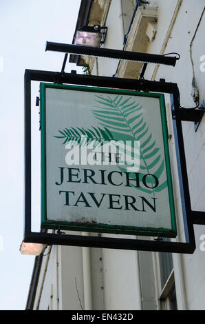 The Jericho Tavern, Oxford. This pub us historically important on the Oxford music scene. Radiohead played their - Stock Photo