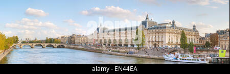 PARIS - OCTOBER 9: D'Orsay museum building on October 9, 2014 in Paris, France. - Stock Photo