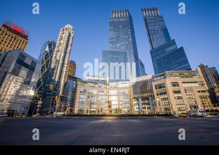 Columbus Circle, NYC, NY, USA - Stock Photo