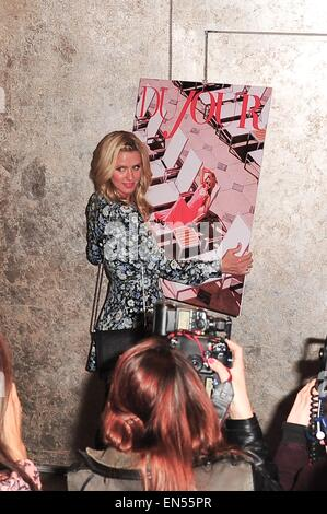 New York, USA. 27th Apr, 2015. Nicky Hilton at arrivals for DUJOUR Magazine April Issue Cover Party for Paris Hilton, - Stock Photo